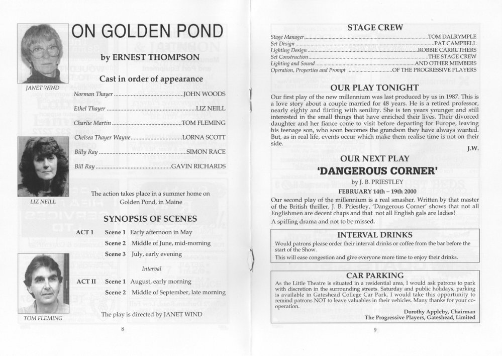 An analysis of the relationships in on golden pond by ernest thompson